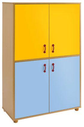 Armario Tam4, 4 puertas 4 huecos