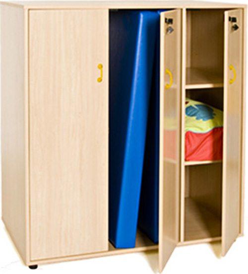 Mueble para guardar colchonetas