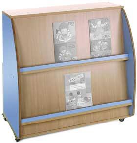 Mueble expositor de libros