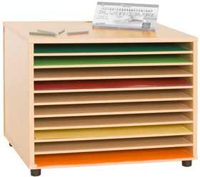 Mueble cartulias horizontal