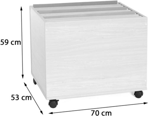 Mueble cartulinas vertical detalle 2