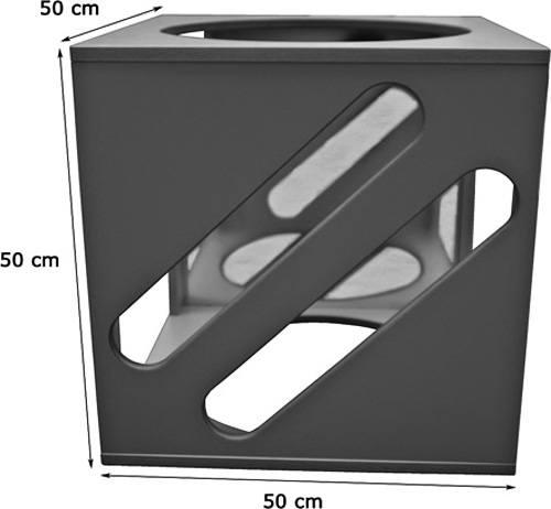 Cubo de juegos individual detalle 3