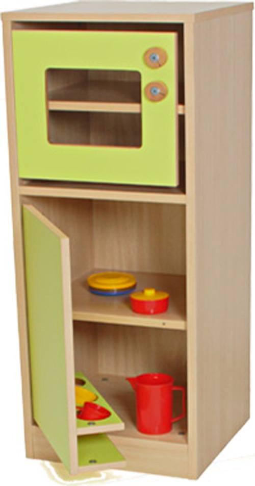 Cocinita módulo frigorífico y microondas