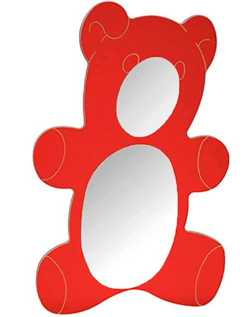 Espejo oso madera 126 x 78 cm detalle 3