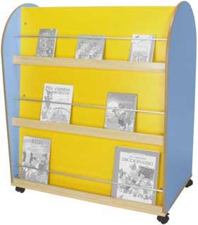 Mueble-carro expositor libros