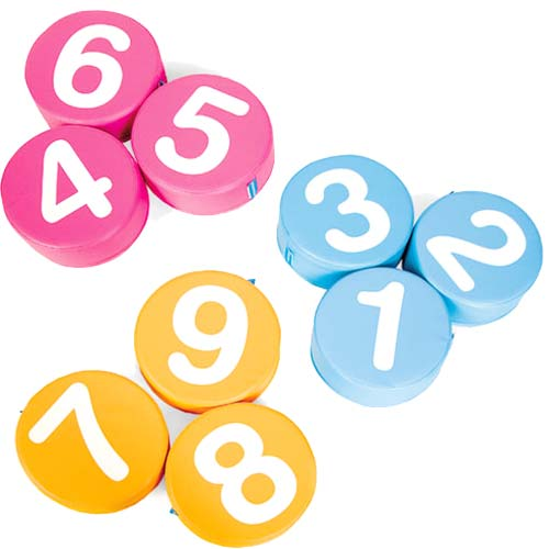 Asientos blanditos números