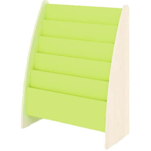 Expositor de libros verde