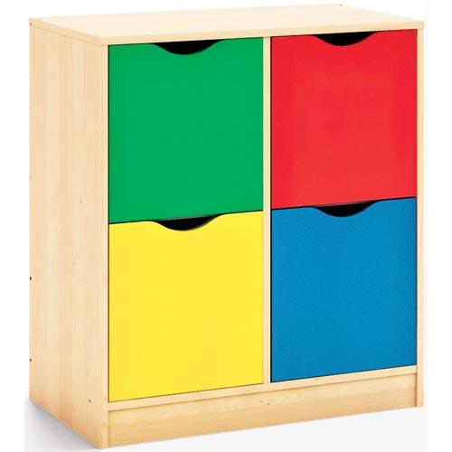 Mueble Maxicolor 4 puertas 88 cm