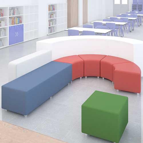 Mini Sofá asiento cubo detalle 2