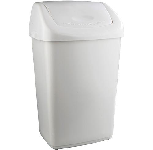 Contenedor residuos tapa basculante 50 litros