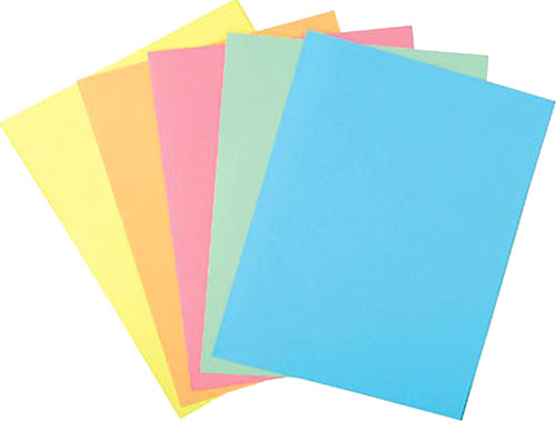 Papel A3 100 h Colores surtidos suaves
