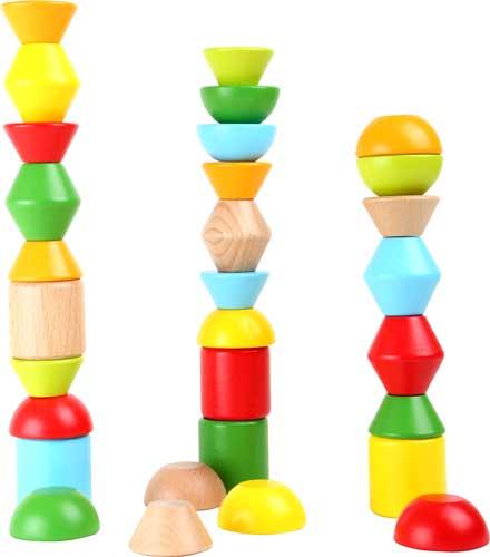 Formas para apilar madera 38 piezas