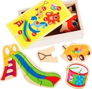 Puzzles mis juguetes favoritos 20 piezas