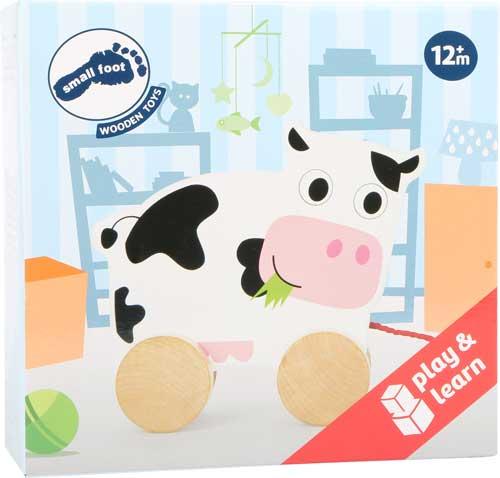 Animal de arrastre Vaca detalle de la caja