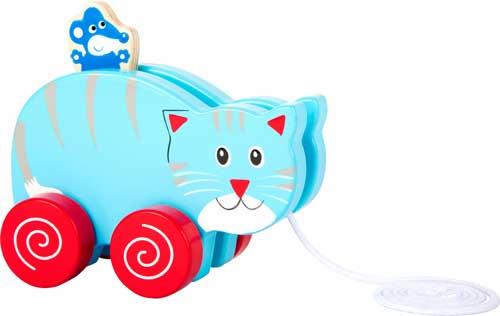 Animal de arrastre Gato y Ratón detalle 1