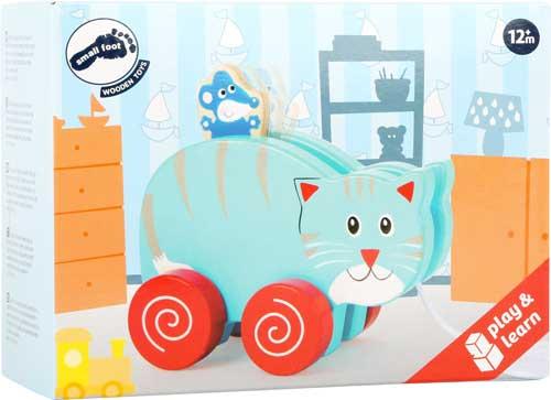 Animal de arrastre Gato y Ratón detalle de la caja