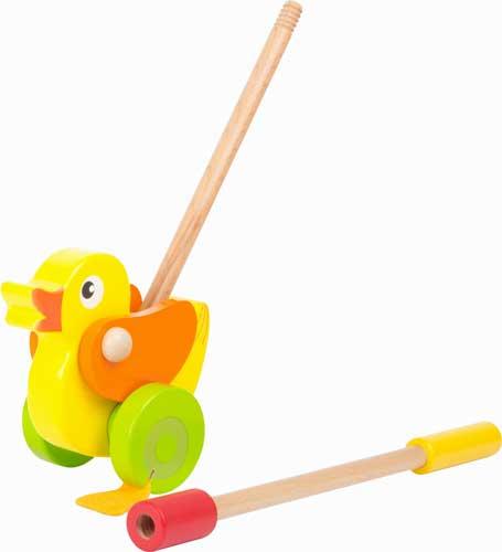 Animal para empujar Pato