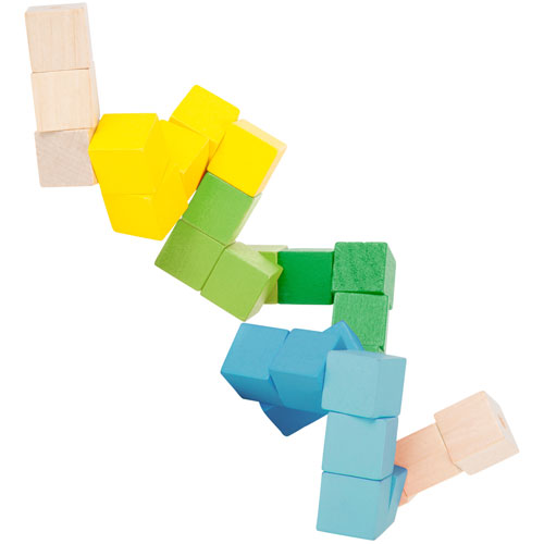 Cubo rompecabezas madera detalle 1