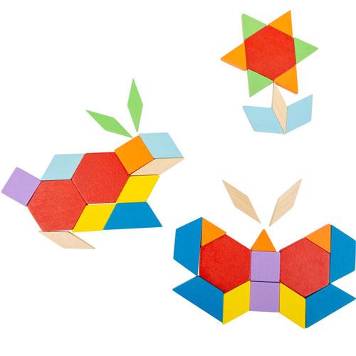 Mosaicos con modelos caja metal 52 piezas detalle 1
