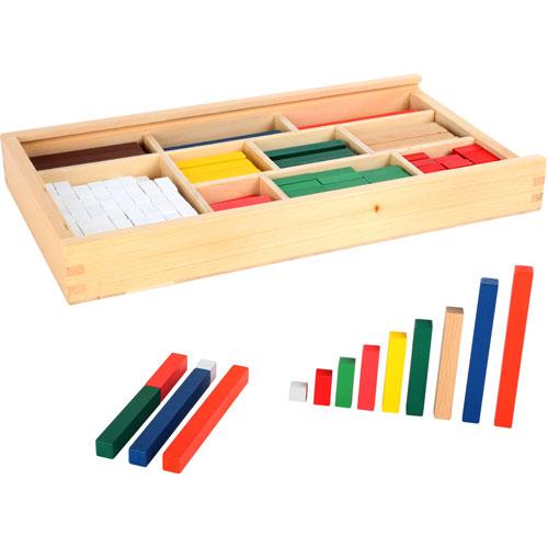 Regletas madera 300 piezas