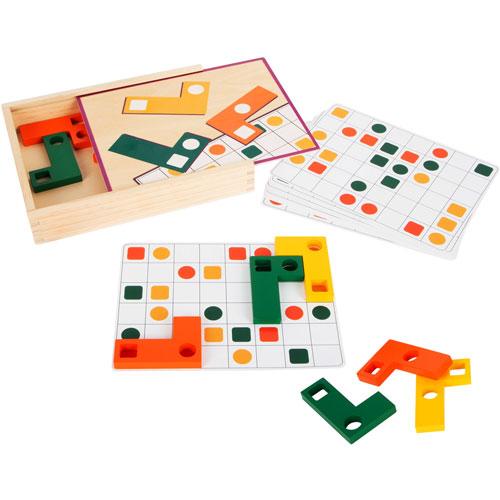 Obsreva y Colaca colores y formas 27 piezas