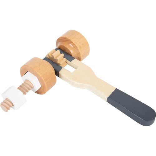 Cinturón de herramientas madera detalle 2