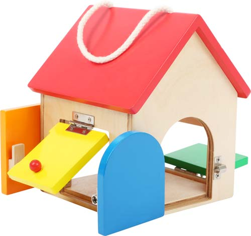 Casa de cerraduras compacta