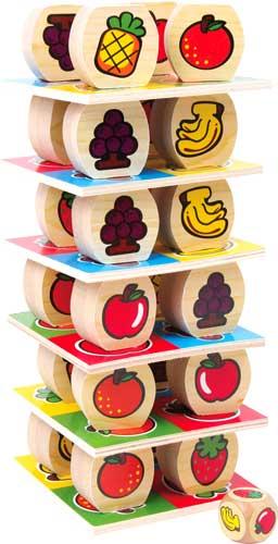 Torre de frutas apilable