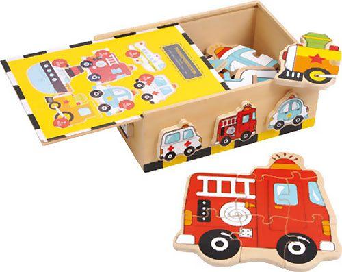 Vehículos en caja 6 ud