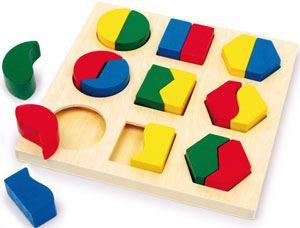 Puzzle geometría