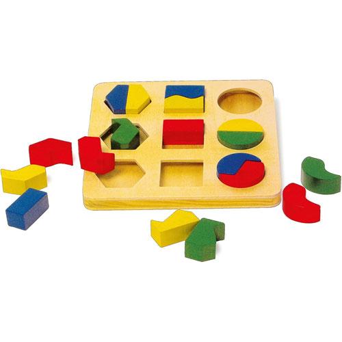 Puzzle geometría detalle 1