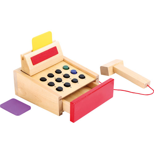 Caja registradora madera