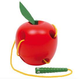 Ensartable manzana