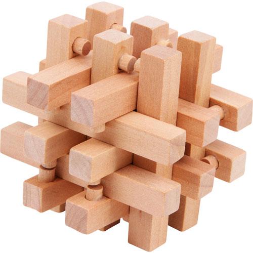 Rompecabezas madera 4 piezas detalle 2