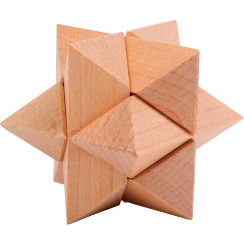 Rompecabezas madera 4 piezas detalle 3