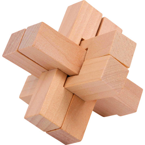Rompecabezas madera 4 piezas detalle 4