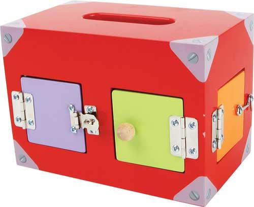 Caja de cerraduras motricidad detalle 5