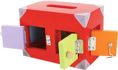 Caja de cerraduras motricidad detalle 6