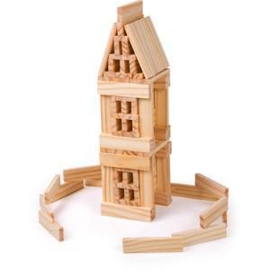 Construcción madera 150 piezas
