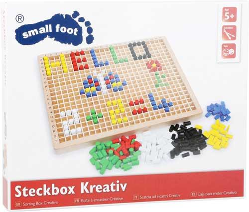 Ensartar creativo madera 500 piezas detalle de la caja