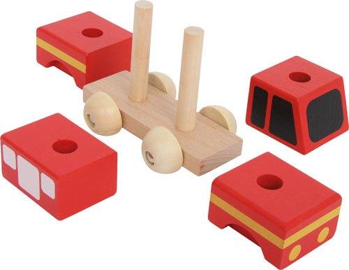 Coches de emergencia ensartar madera 4 ud. detalle 3