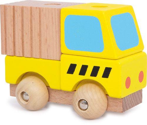 Coches de emergencia ensartar madera 4 ud. detalle 5