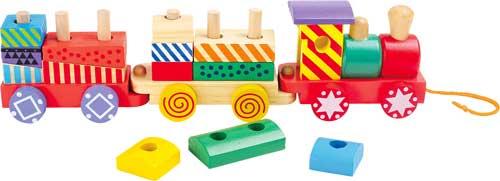 Tren colorido