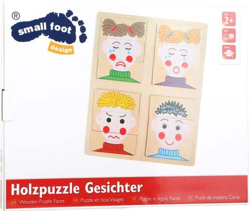 Puzzle de las caras 12 piezas detalle 3