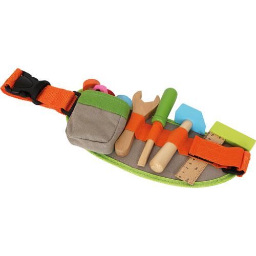 Cinturón de herramientas color madera