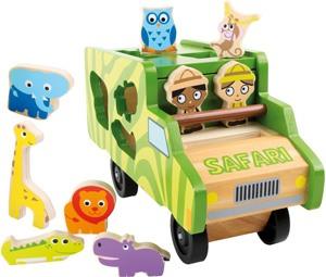 Autobús ensartar safari