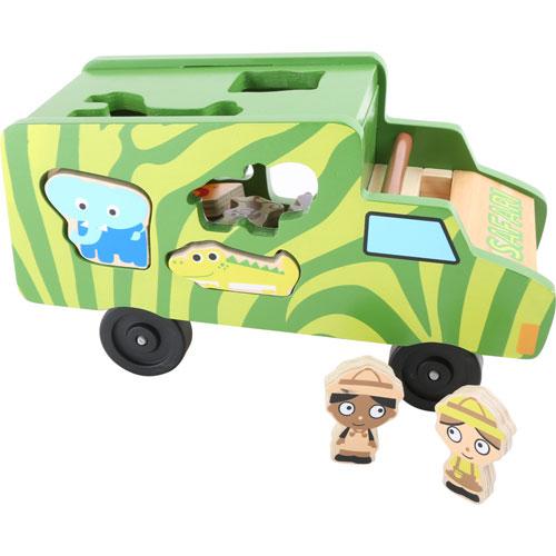 Autobús ensartar safari detalle 1