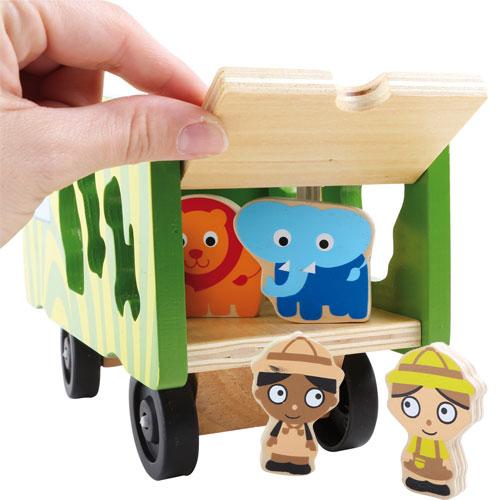 Autobús ensartar safari detalle 2