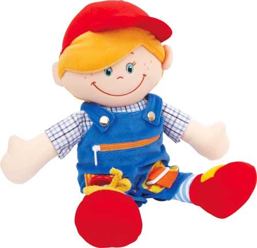 Clara y Máximo muñecos de abroches detalle chico