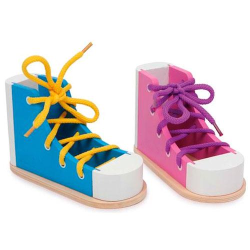 Zapato para ensartar 2 ud.
